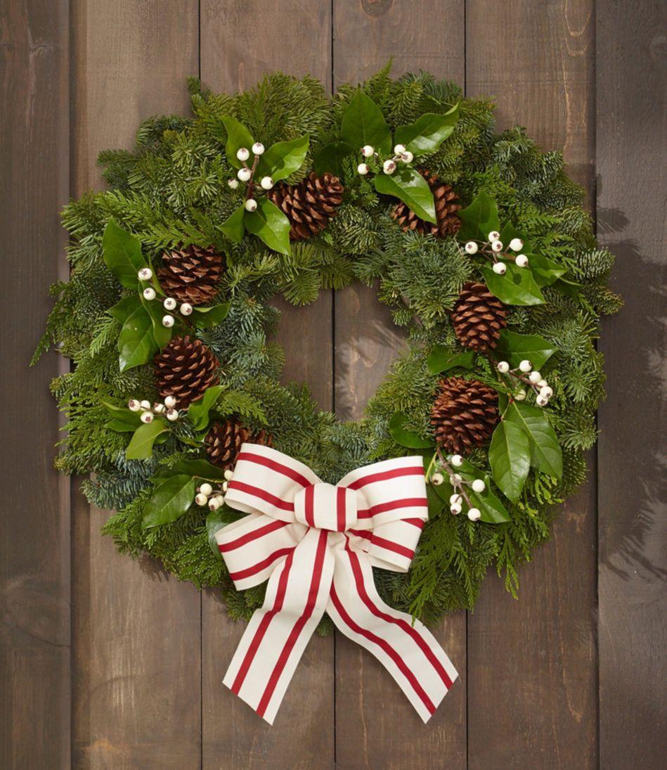 Woodland Snowberry Wreath