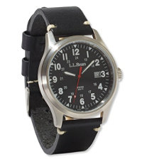Vintage Field Watch, 42-mm Leather