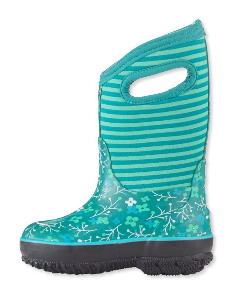Kids' Bogs Boots, Classic Flower Stripe