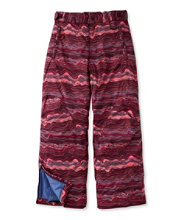 Girls' Glacier Summit Waterproof Pants, Print