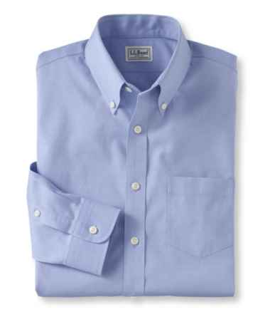 Wrinkle-Free Pinpoint Oxford Cloth Shirt, Slim Fit