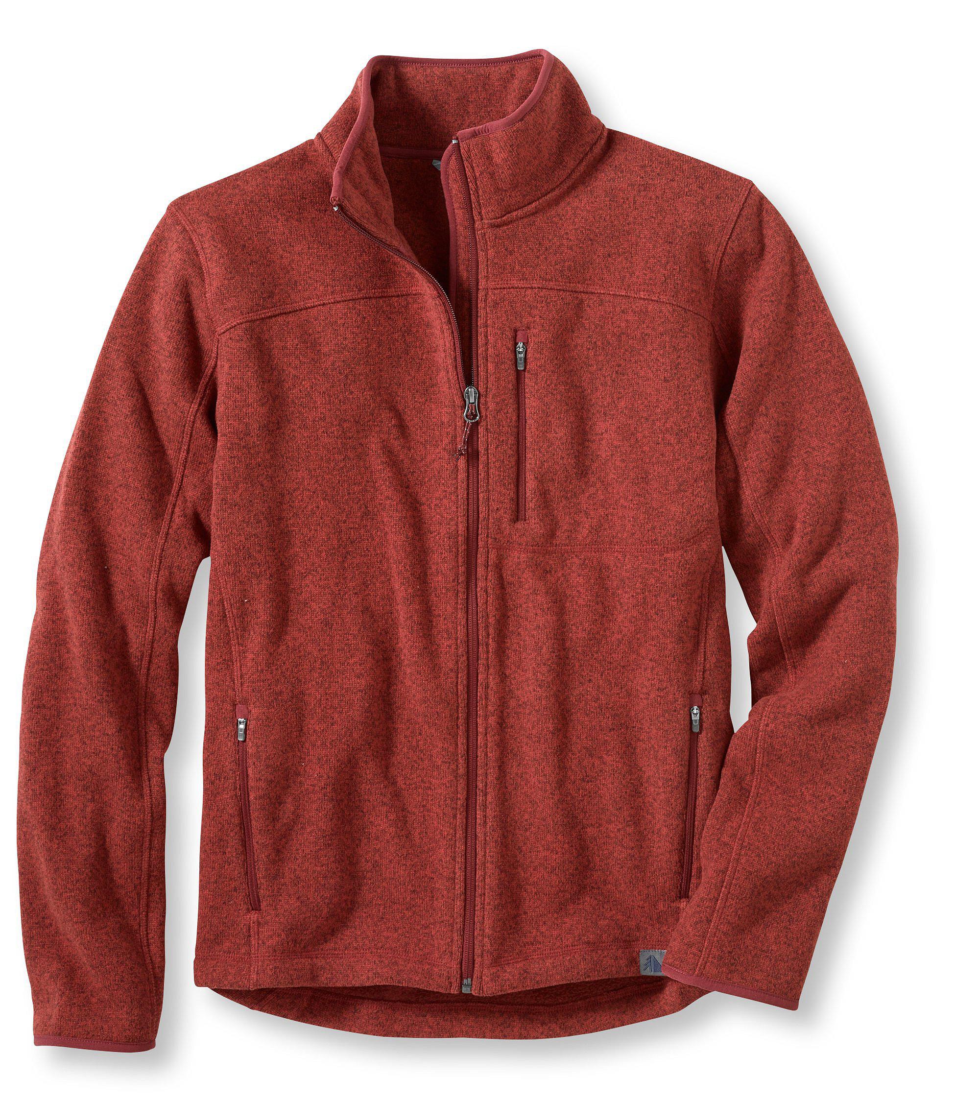 Men's L.L.Bean Sweater Fleece Full-Zip Jacket | Free Shipping at ...
