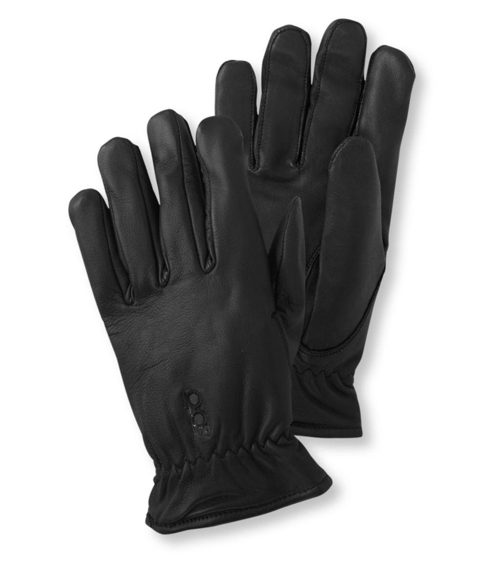 Men's Bob Allen Premier Leather Shooting Gloves, Unlined