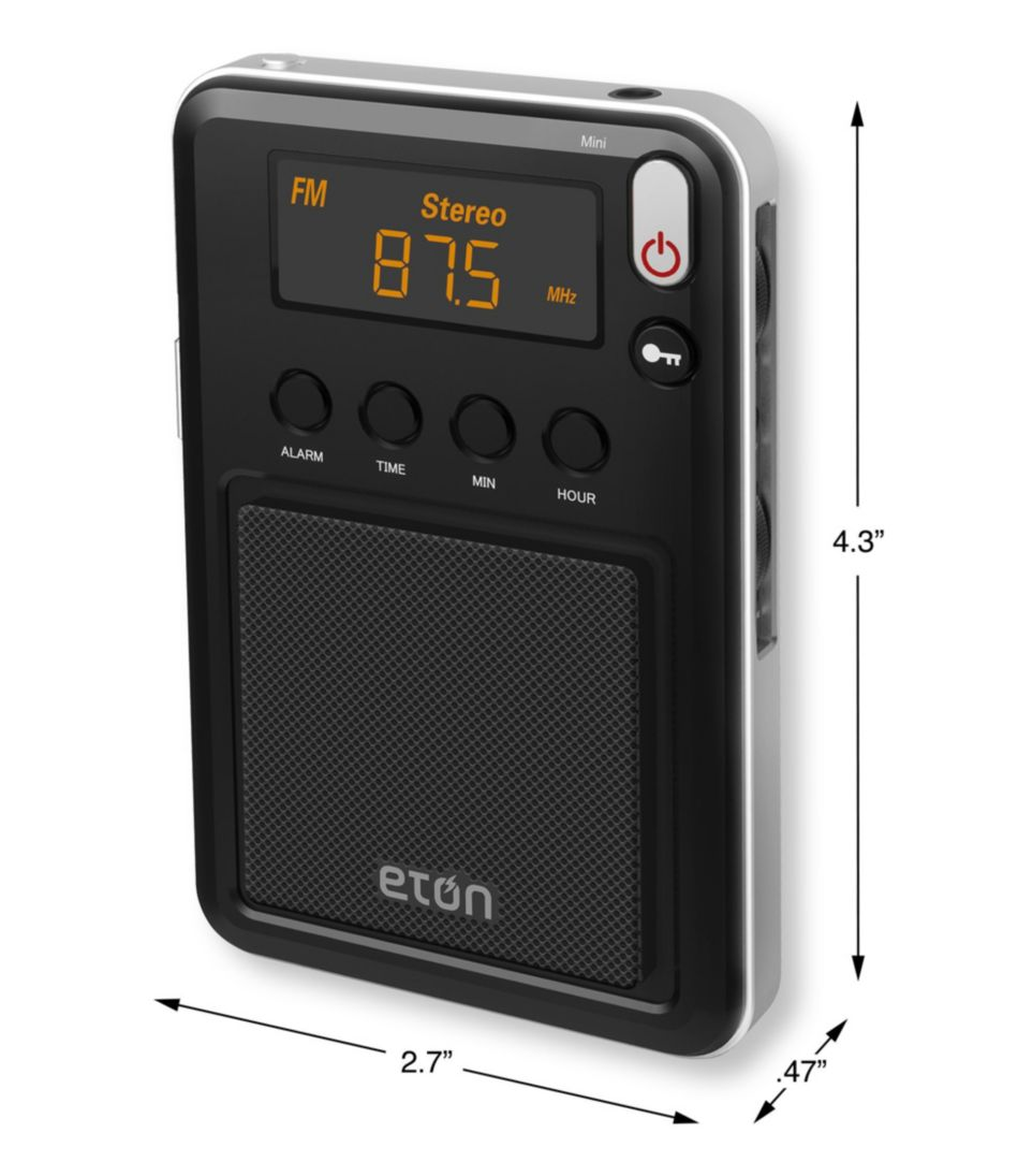 Eton Mini AM/FM/Shortwave Radio