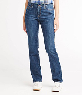 Women's L.L.Bean 1912 Jeans, Favorite Fit Straight-Leg