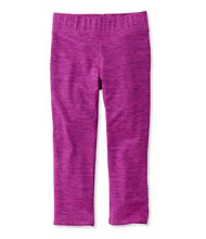 Girls' L.L.Bean Tech Leggings, Capri