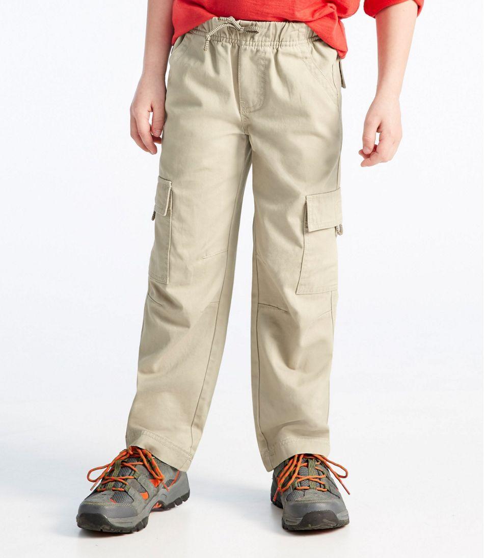 Boys' Cotton Twill Cargo Pants