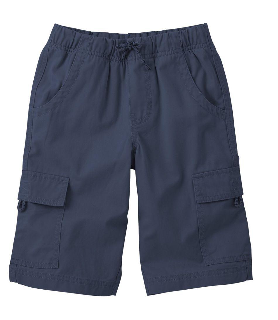 Boys' Cotton Twill Cargo Shorts