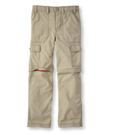 Boys' Trekking Zip-Off Pants