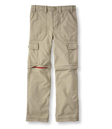 Boys Trekking Zip Off Pants
