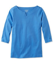 Women's L.L.Bean Tunic, Three-Quarter-Sleeve Boatneck