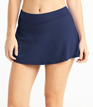 L.L.Bean Mix-and-Match Swim Collection, Mid-Rise Skort