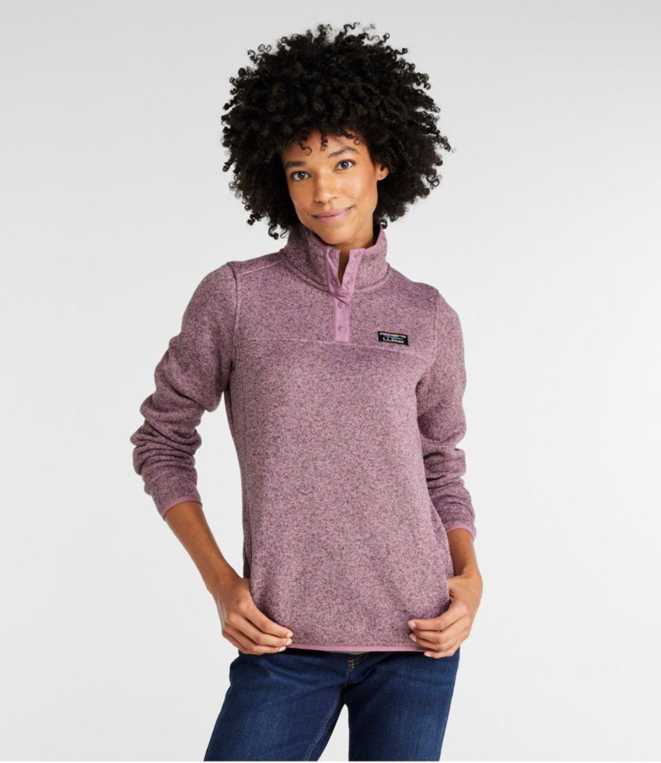 Womens Llbean Sweater Fleece Pullover