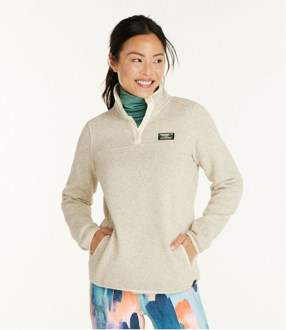 350861b3ef49c5 Women's L.L.Bean Sweater Fleece Pullover