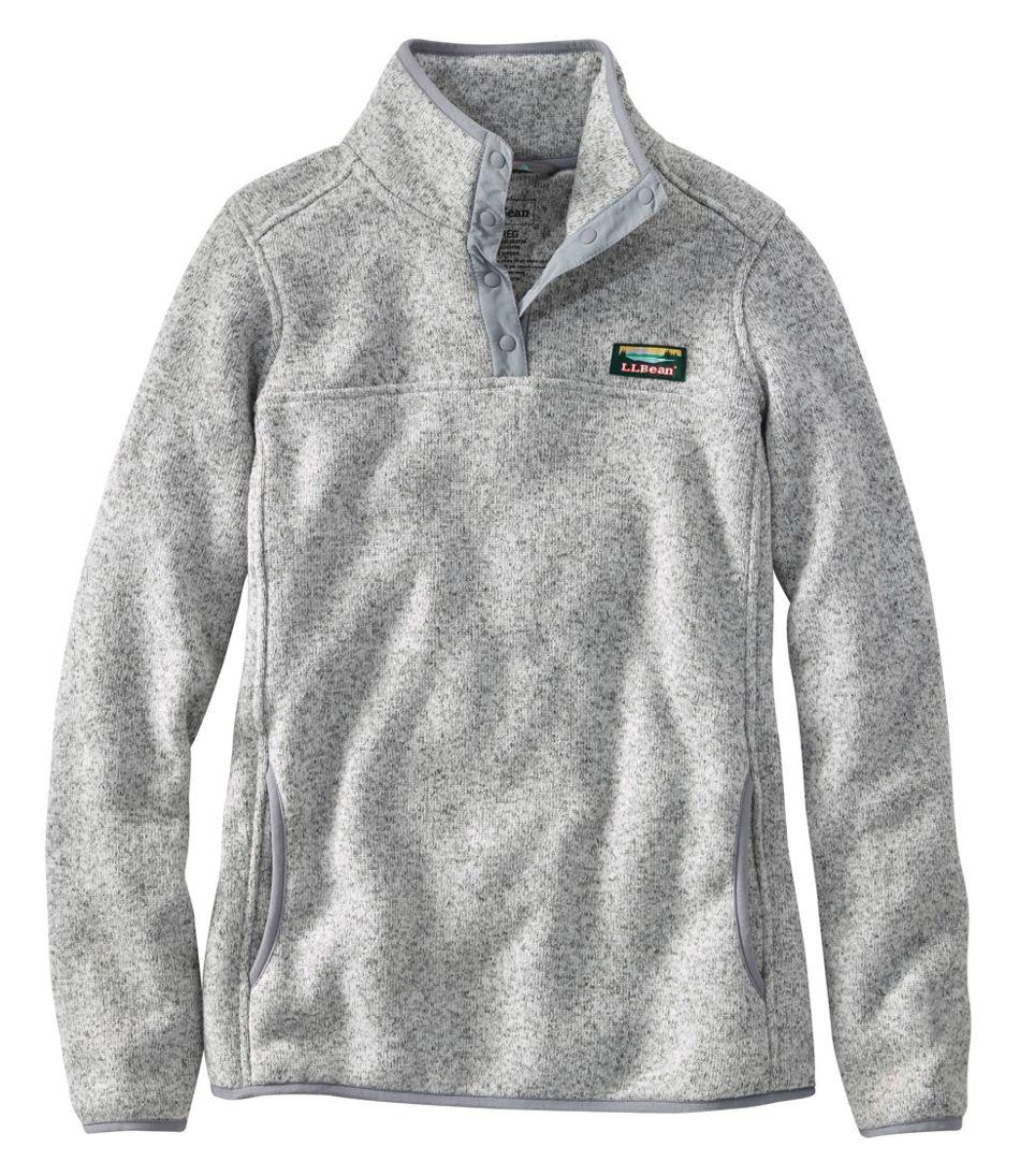 Women's L.L.Bean Sweater Fleece Pullover