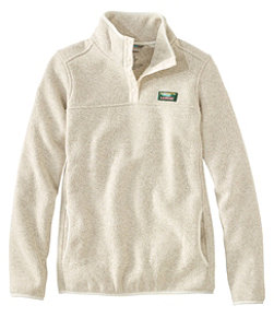 Women's L.L.Bean Sweater Fleece Pullover