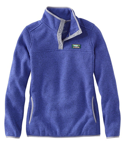 Women's L.L.Bean Sweater Fleece Pullover | Free Shipping at L.L.Bean.
