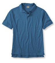 Pima Cotton Polo Shirt, Banded Short-Sleeve