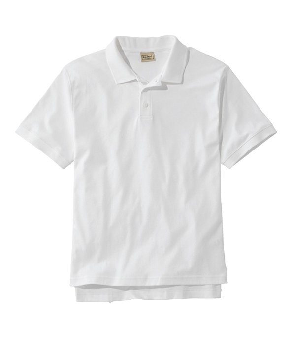 Men's Pima Cotton Banded Sleeve Polo, , large image number 0
