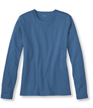 Pima Crewneck, Long-Sleeve