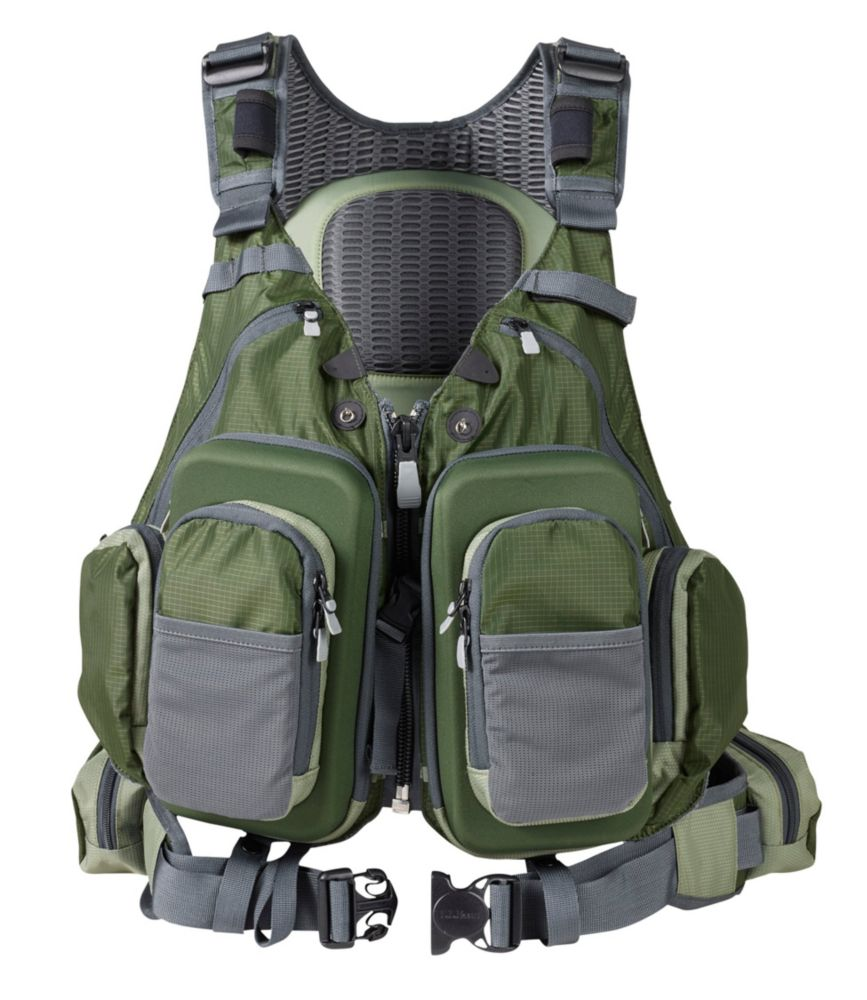 This fly fishing gift guide image shows the L.L.Bean Rapid River Vest Pack.