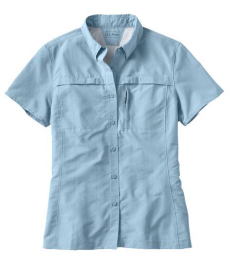Misses' Tropicwear Shirt, Short-Sleeve