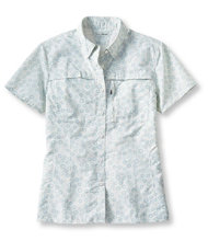 Tropicwear Shirt, Print Short-Sleeve
