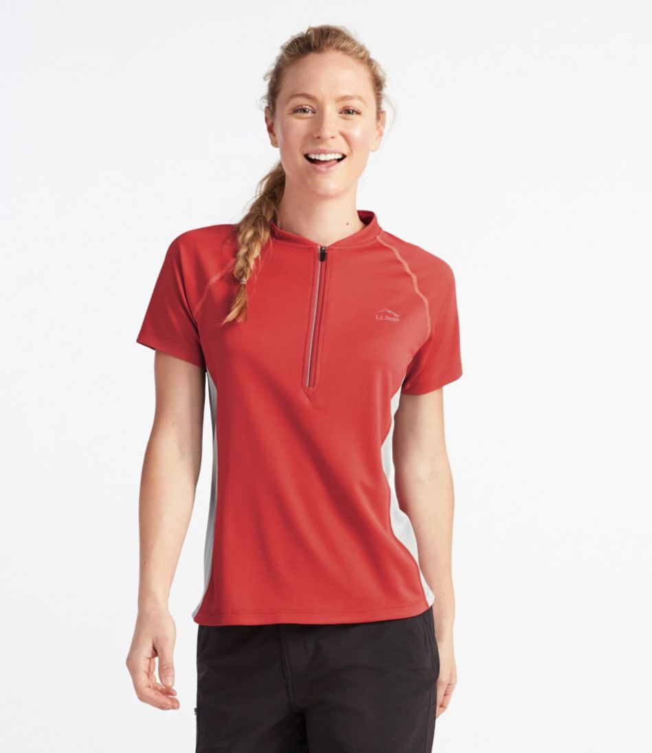 Women's Comfort Cycling Jersey, Short-Sleeve