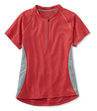 Women's Comfort Cycling Jersey, Short-Sleeve