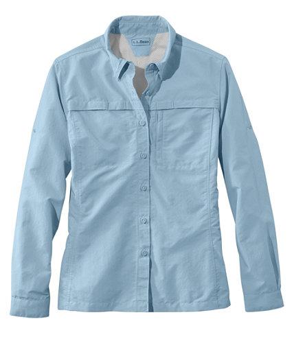 Misses Tropicwear Shirt Long Sleeve