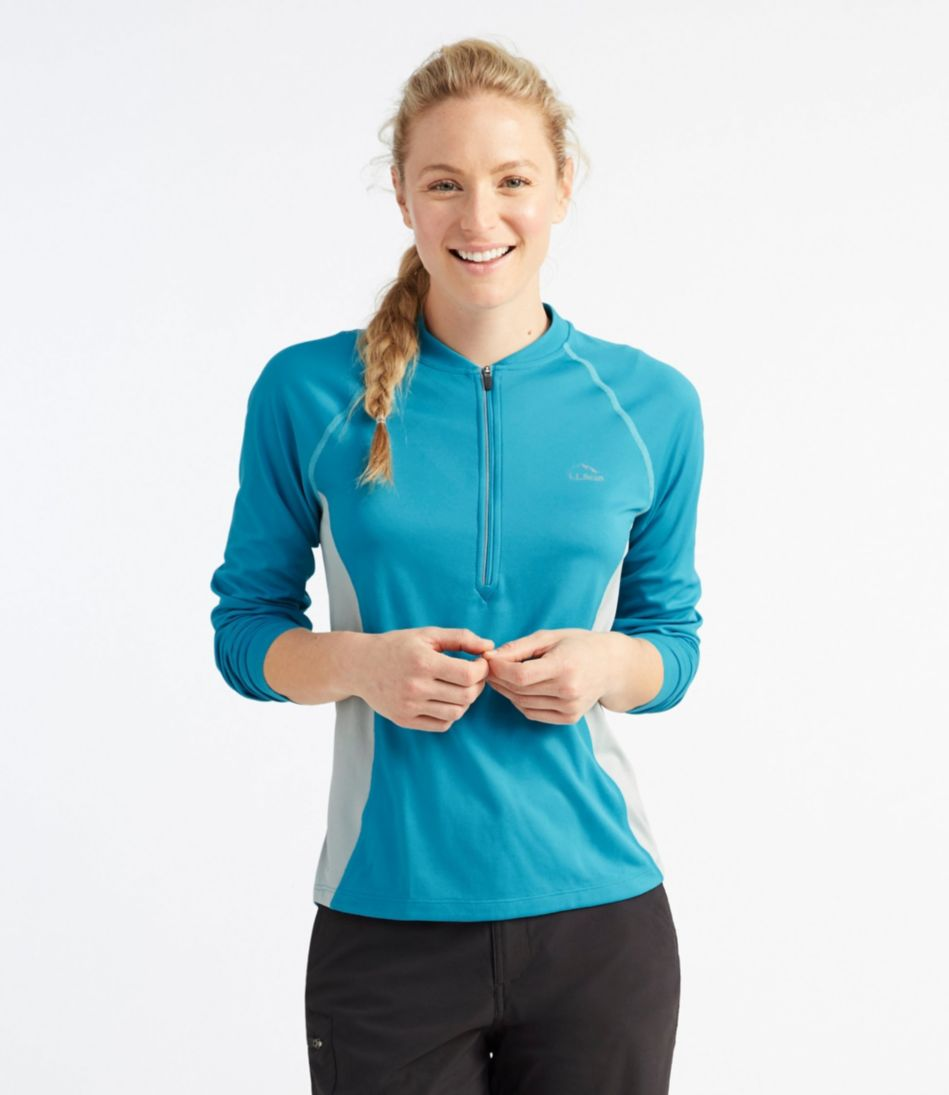 Women's Comfort Cycling Jersey, Long-Sleeve