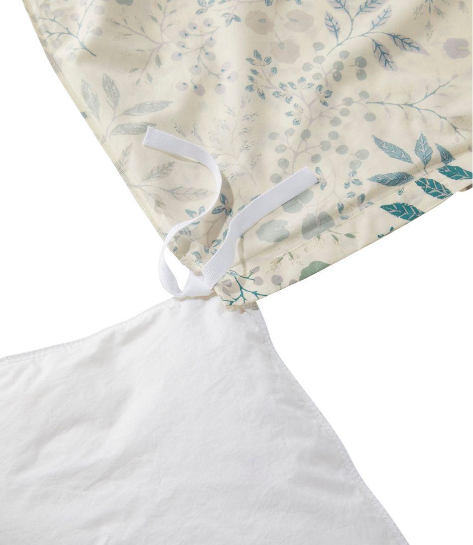 280-Thread-Count Pima Cotton Percale Comforter Cover Collection, Print