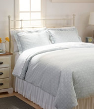 280-Thread-Count Pima Cotton Percale Comforter Cover Collection, Print