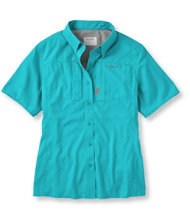 Women's Rapid River Technical Fishing Shirt, Short-Sleeve