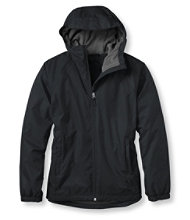 Discovery Rain Jacket, Fleece-Lined