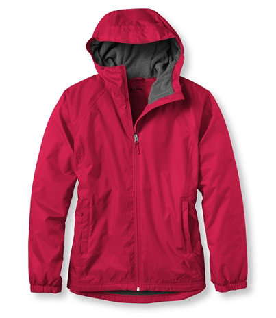 Women's Discovery Rain Jacket, Fleece-Lined | Free Shipping at ...