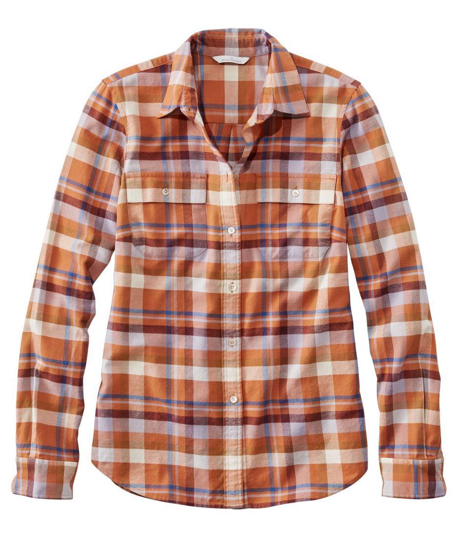 Signature Lightweight Flannel Shirt, Plaid