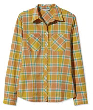 Signature Women's Madras Shirt, Long-Sleeve
