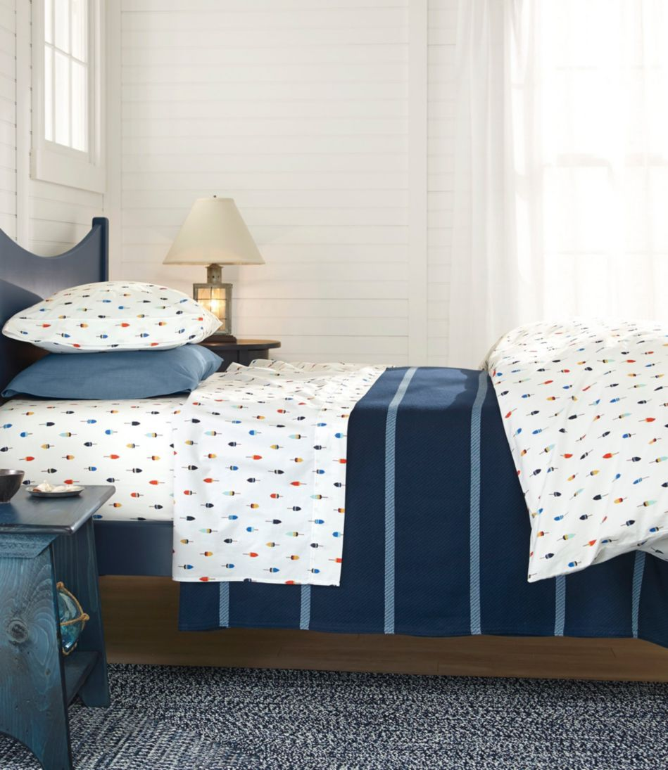 Buoy Percale Sheet Collection