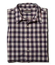 Signature Washed Poplin Shirt, Slim Fit Check