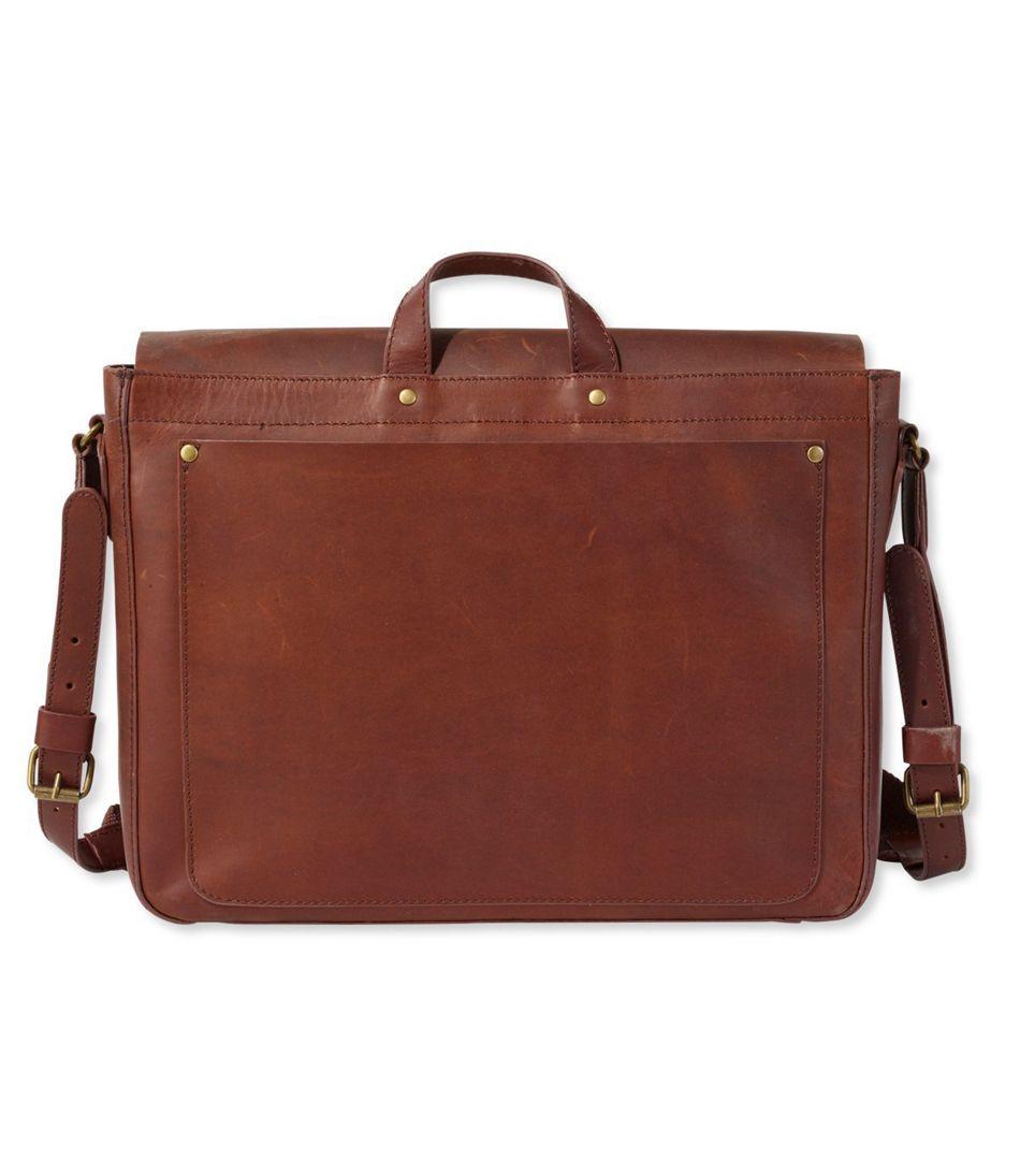 6bf6556df75 Signature Leather Messenger Bag