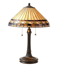 Bradbury Art Glass Table Lamp