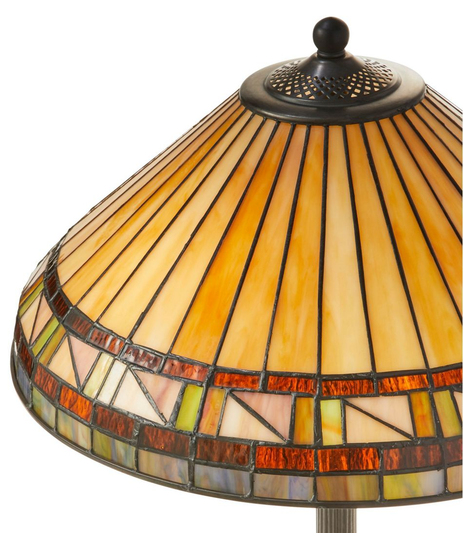 Bradbury Art Glass Floor Lamp