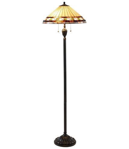 Bradbury art glass floor lamp aloadofball Images