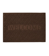 Waterhog Doormat, Recycled Welcome