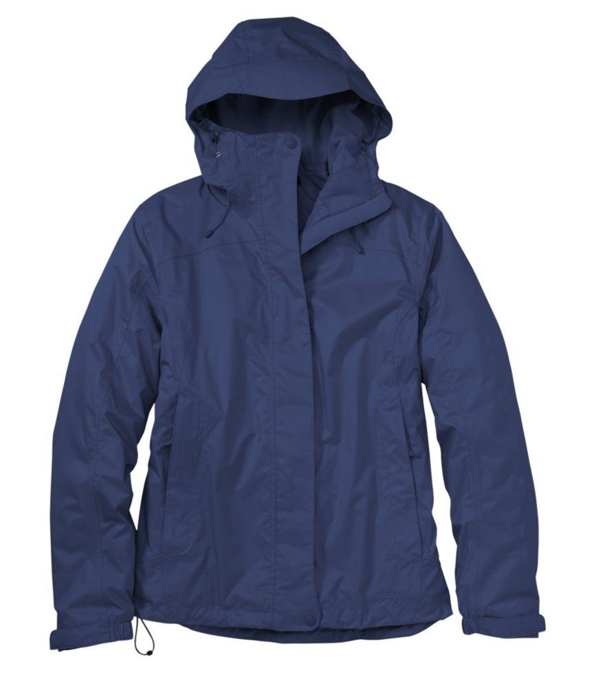 photo: L.L.Bean Trail Model Rain Jacket, Fleece-Lined waterproof jacket