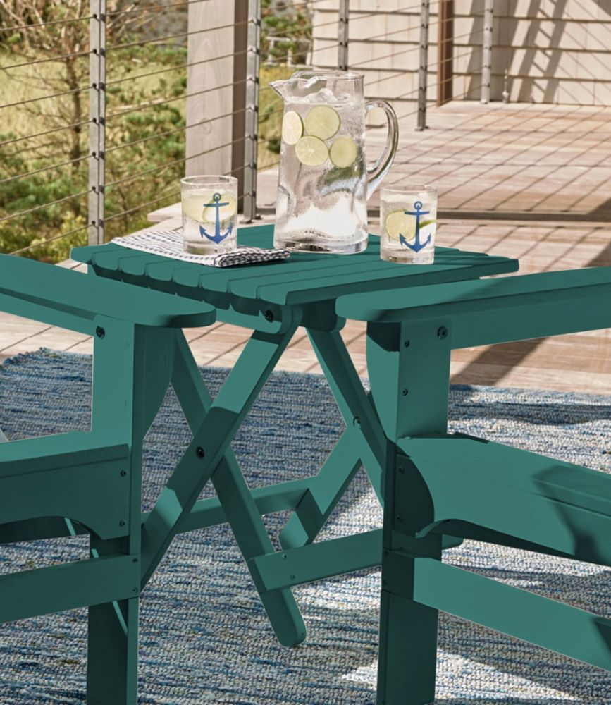 Marvelous Adirondack Wooden Folding Side Table | Free Shipping At L.L.Bean.