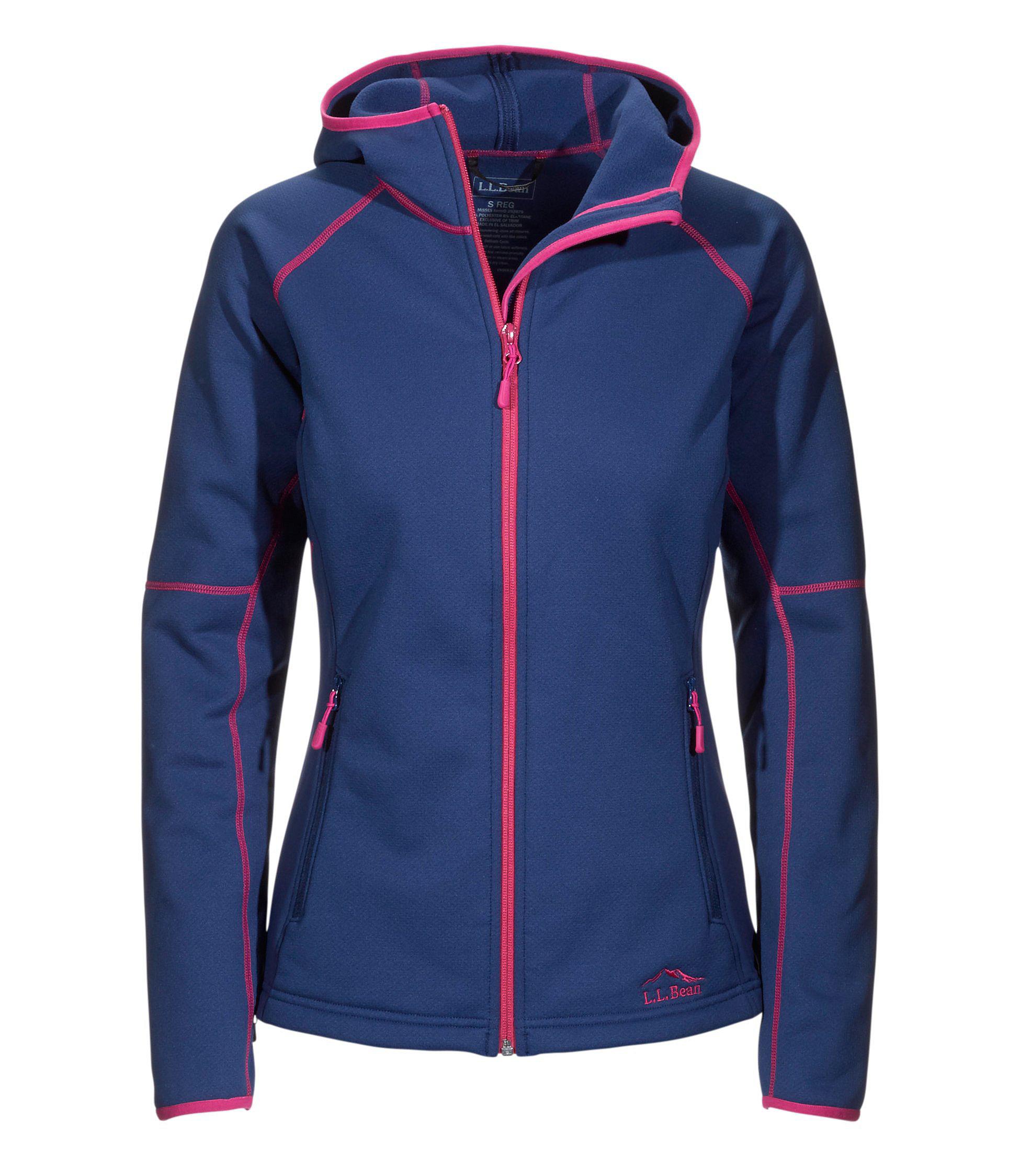 Women's L.L.Bean ProStretch Fleece Jacket, Hooded | Free Shipping ...