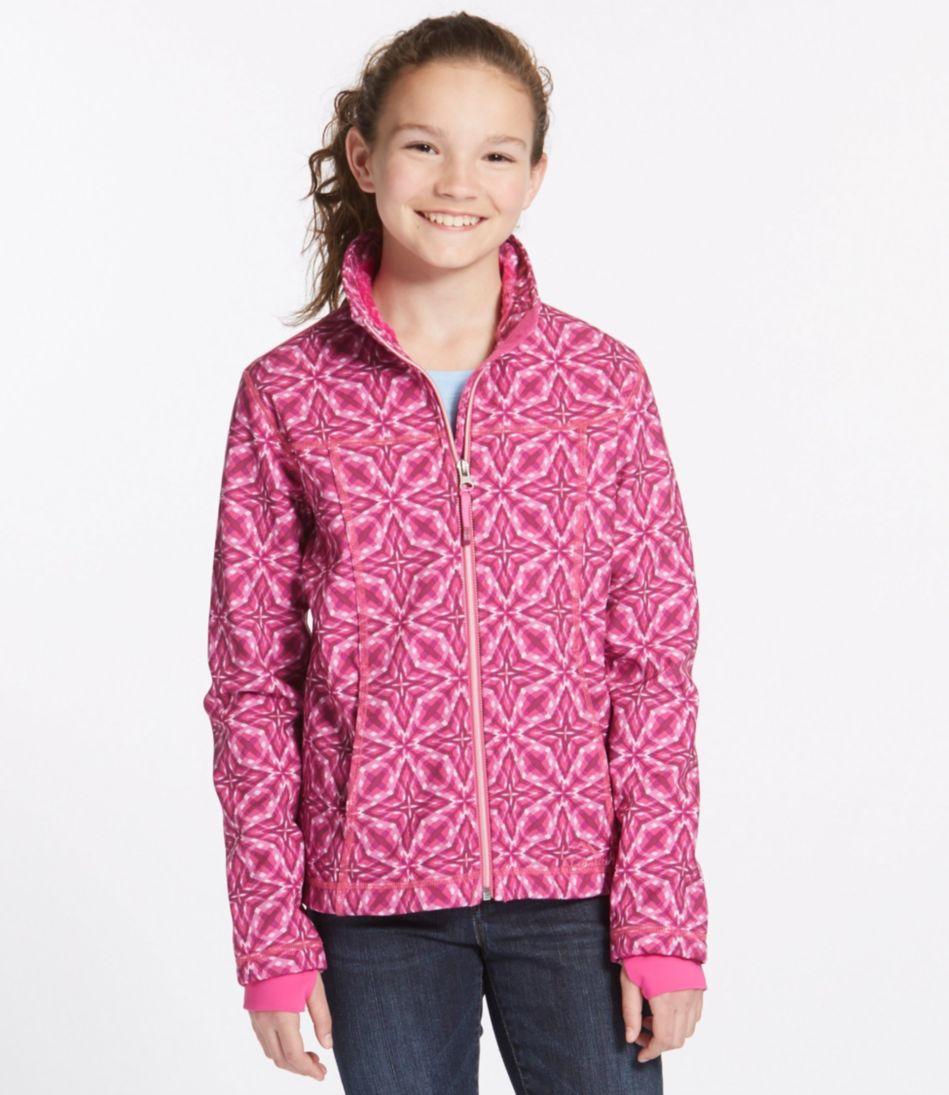 Girls' Wonderfleece Soft-Shell Jacket, Print