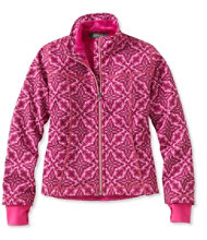 Girls' Wonderfleece Soft-Shell Jacket, Print